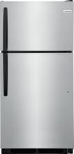 15 CU. FT. Frigidaire Top Freezer Refrigerator, Stainless